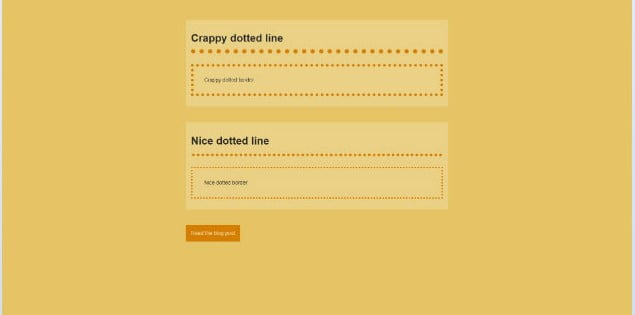 True-dotted - 45+ BEST FREE CSS Border Style & Animation IDEA [year]