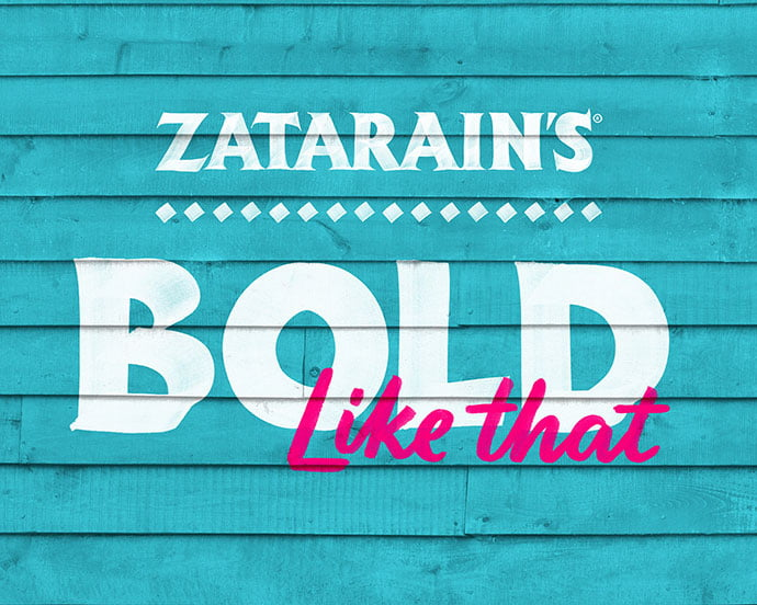Zatarain's-Hand-Painted-Letters - 53+ TOP BEST Free Typography Designs IDEA [year]