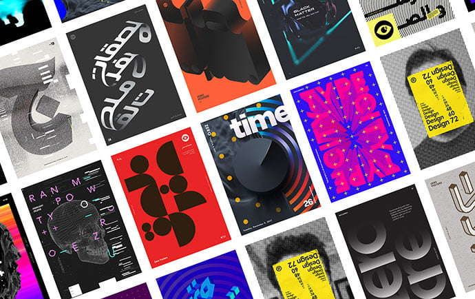 Zero-Posters-Vol.1 - 53+ TOP BEST Free Typography Designs IDEA [year]