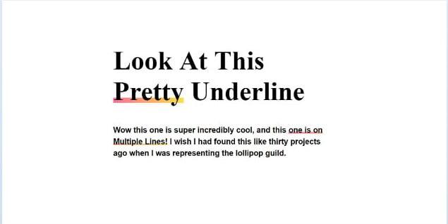 underline - 45+ BEST FREE CSS Border Style & Animation IDEA [year]