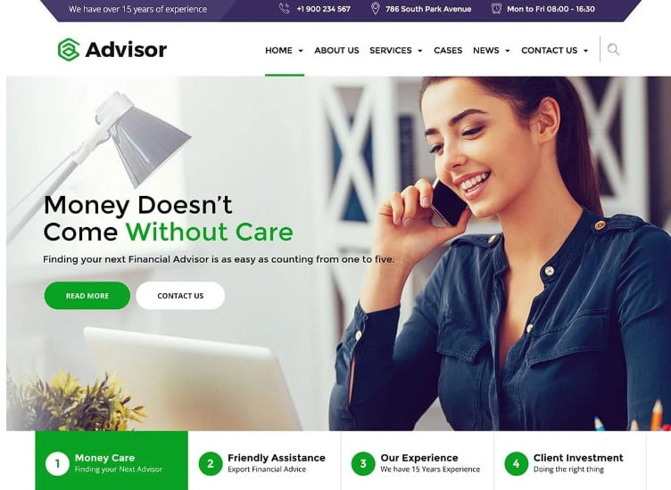 Advisor - 33+ TOP WordPress Consulting Themes [year]