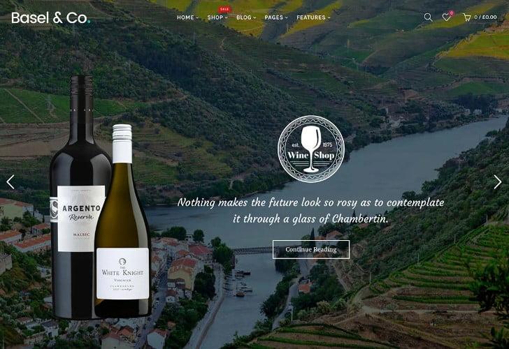 Basel - 28+ NICE WordPress Wine Themes [year]