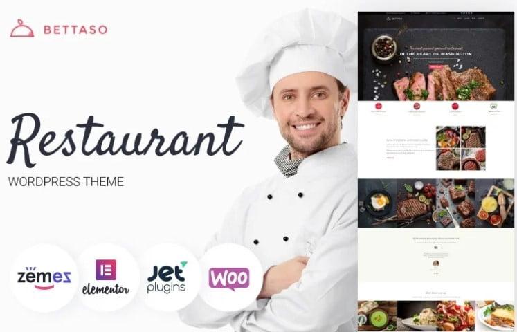 Bettaso - 33+ TOP Food & Drink WordPress E-Commerce Themes [year]