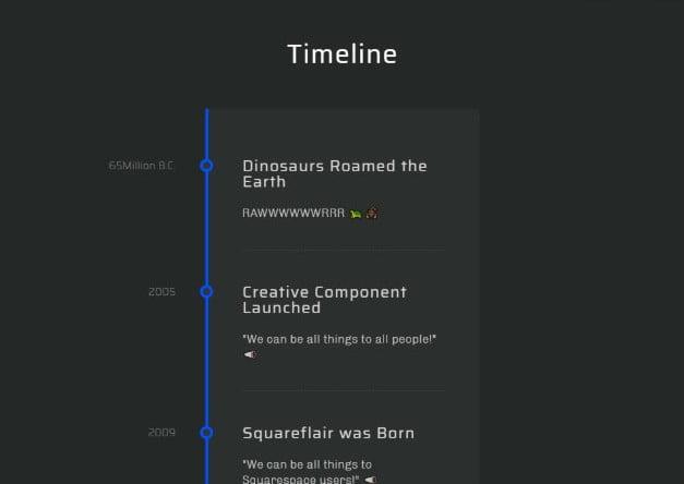 CSS-Timeline - 33+ BEST FREE CSS & Javascript Timeline IDEA [year]