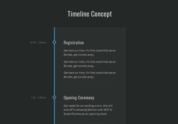 CSS - 33+ BEST FREE CSS & Javascript Timeline IDEA [year]