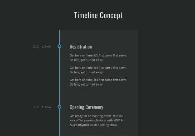 CSS - 33+ BEST FREE CSS & Javascript Timeline IDEA [year]