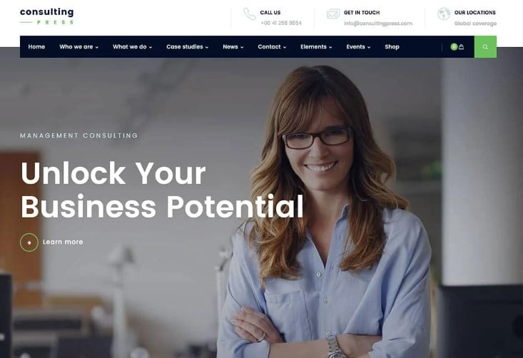 ConsultingPress - 33+ TOP WordPress Consulting Themes [year]