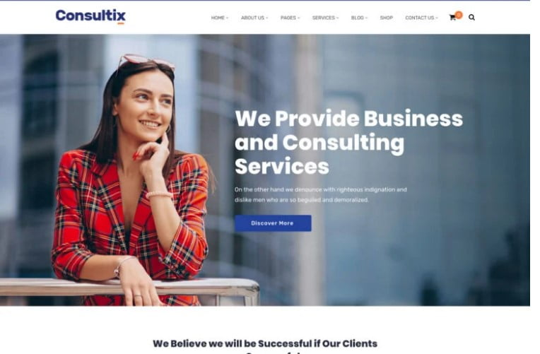 Consultix - 33+ TOP WordPress Consulting Themes [year]