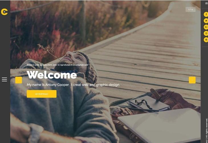 Cooper - 36+ GREAT Designers WordPress Themes [year]
