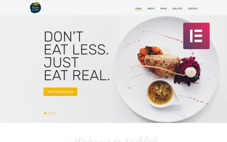 Dishlish - 41+ AMAZING WordPress Food Themes For Recipes [year]