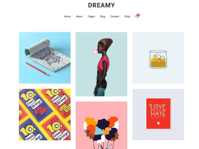 Dreamy - 36+ GREAT Designers WordPress Themes [year]