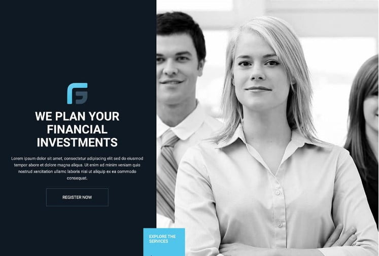 Finance-Group - 33+ BEST WordPress Financial Themes [year]