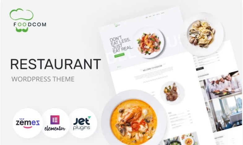 Foodcom - 41+ AMAZING WordPress Food Themes For Recipes [year]