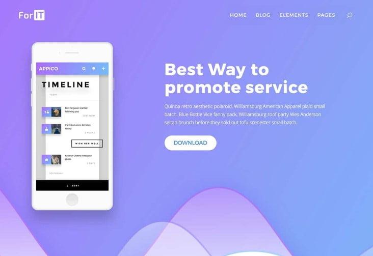 ForIT - 29+ GREAT Startups WordPress Themes [year]