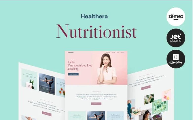 Healthera - 41+ AMAZING WordPress Food Themes For Recipes [year]