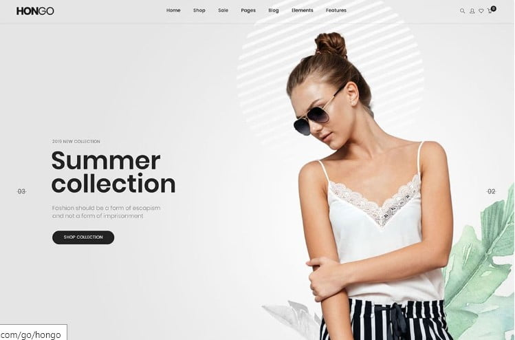 Hongo - 47+ AWESOME WordPress Woocommerce Themes [year]