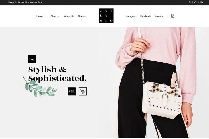 Jayla - 47+ AWESOME WordPress Woocommerce Themes [year]