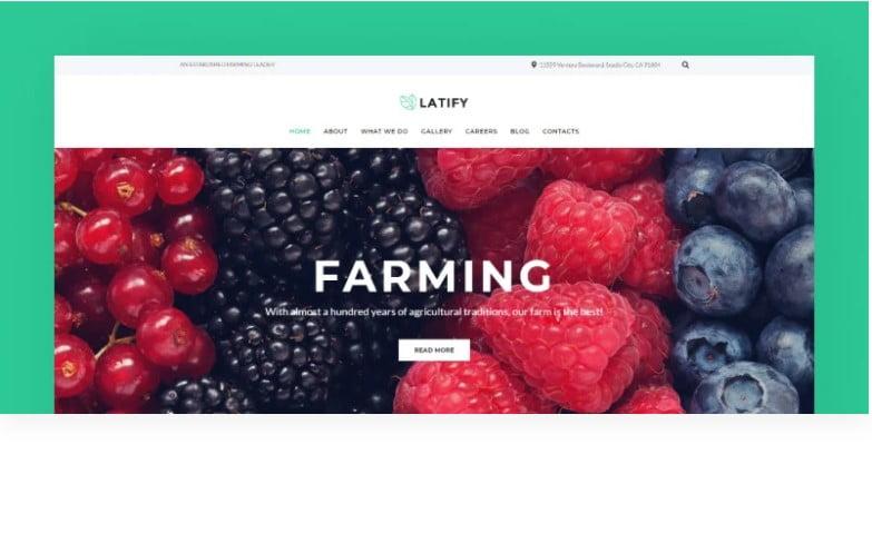 Latify - 41+ AMAZING WordPress Food Themes For Recipes [year]