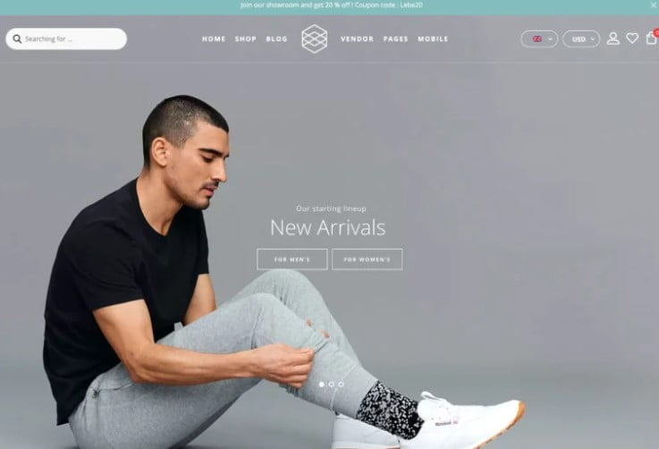 Lebe - 47+ AWESOME WordPress Woocommerce Themes [year]