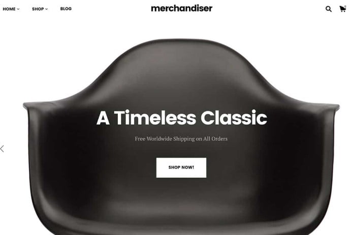 Merchandiser - 47+ AWESOME WordPress Woocommerce Themes [year]