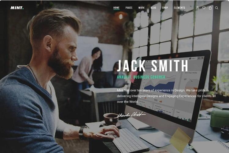 Mint - 36+ GREAT Designers WordPress Themes [year]