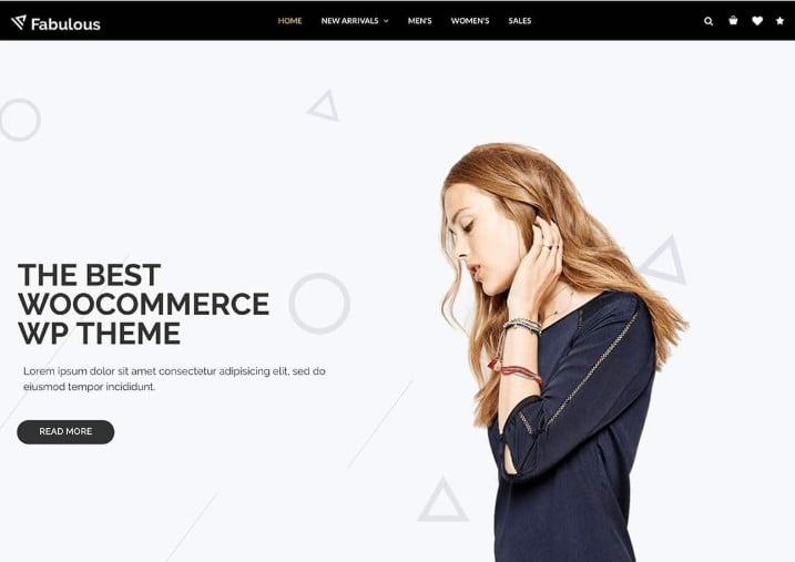 Nitro - 47+ AWESOME WordPress Woocommerce Themes [year]