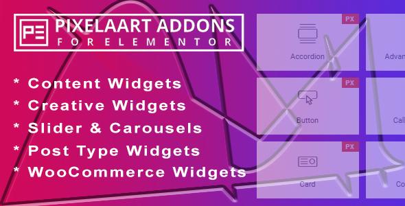 Pixelaart-Addons-for-Elementor - 33+ BEST FREE CSS & Javascript Timeline IDEA [year]