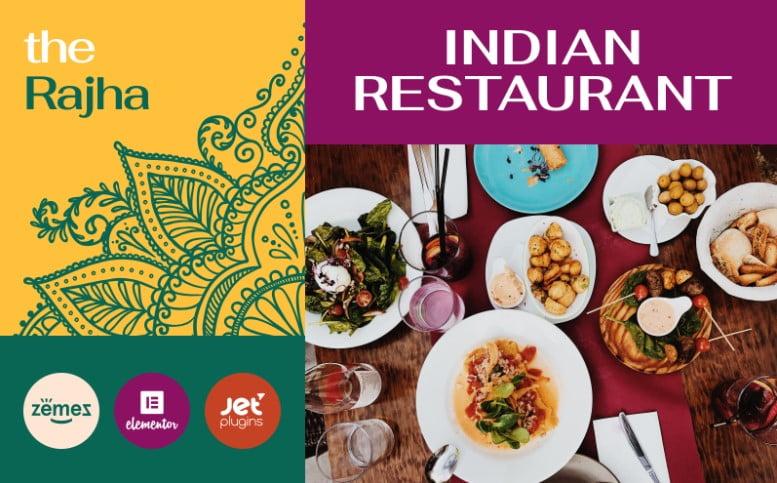 Rajha - 41+ AMAZING WordPress Food Themes For Recipes [year]