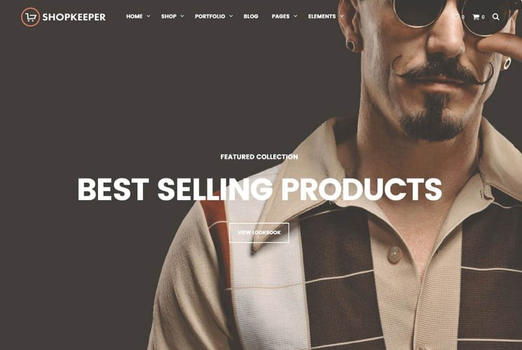 Shopkeeper - 47+ AWESOME WordPress Woocommerce Themes [year]