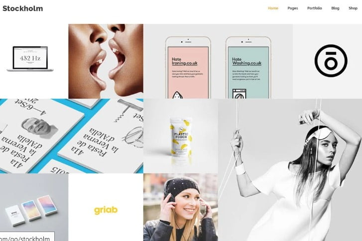 Stockholm - 36+ GREAT Designers WordPress Themes [year]