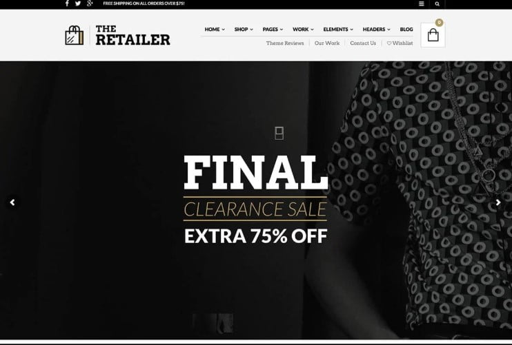 The-Retailer - 47+ AWESOME WordPress Woocommerce Themes [year]