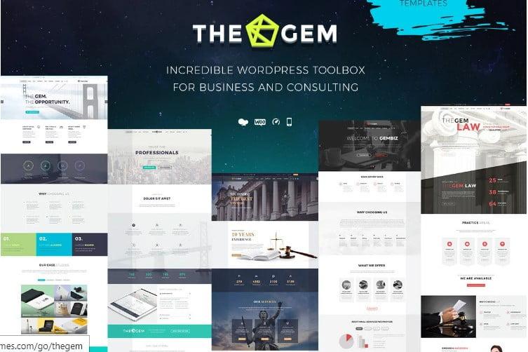 TheGem-2 - 33+ BEST WordPress Financial Themes [year]