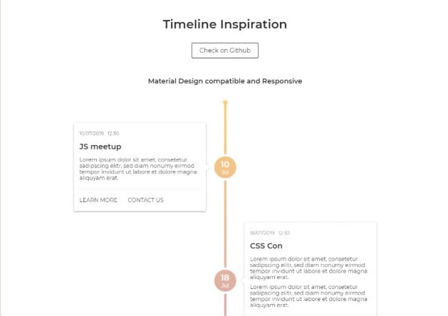 Timeline-Inspiration - 33+ BEST FREE CSS & Javascript Timeline IDEA [year]