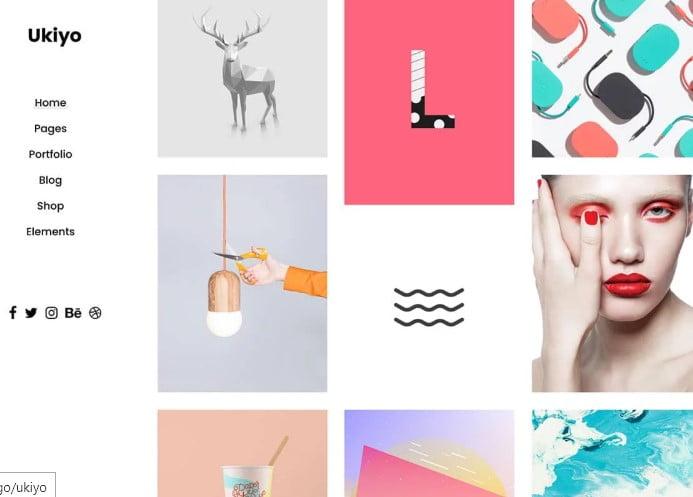 Ukiyo - 36+ GREAT Designers WordPress Themes [year]