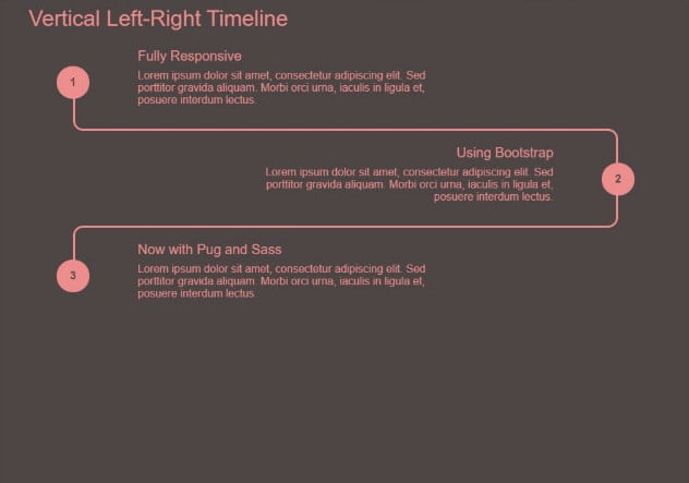 Vertical-Left-And-Right-Timeline - 33+ BEST FREE CSS & Javascript Timeline IDEA [year]