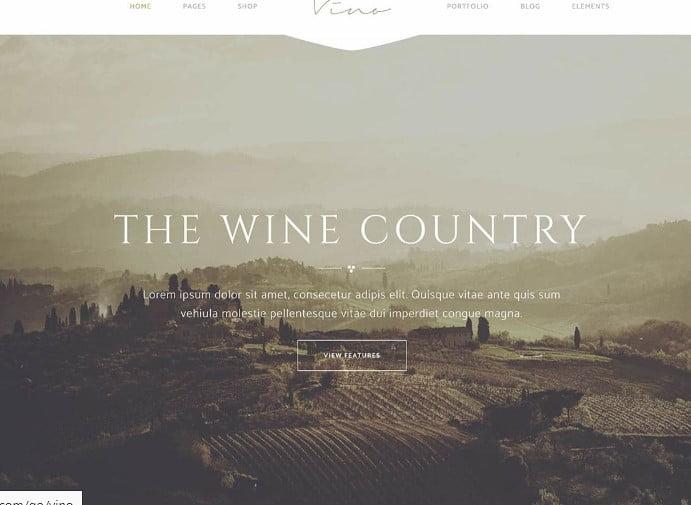 Vino - 28+ NICE WordPress Wine Themes [year]