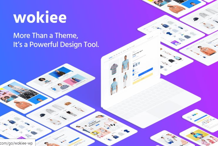 Wokiee - 47+ AWESOME WordPress Woocommerce Themes [year]