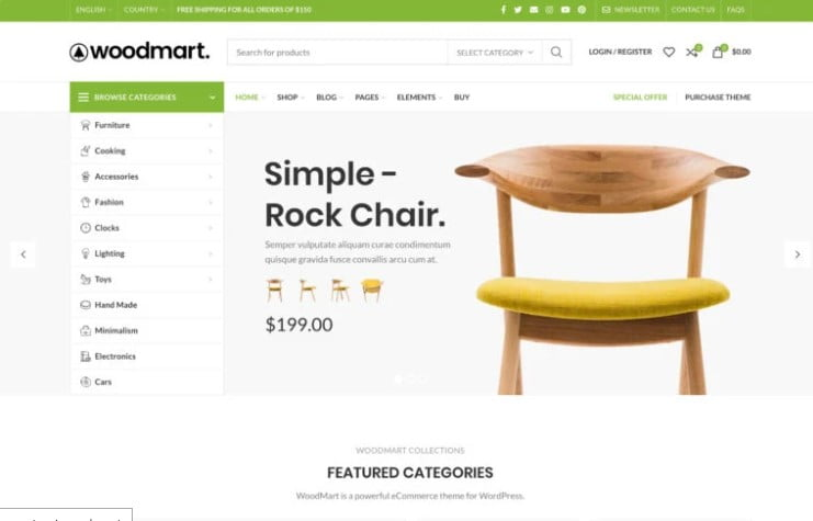 WoodMart - 47+ AWESOME WordPress Woocommerce Themes [year]