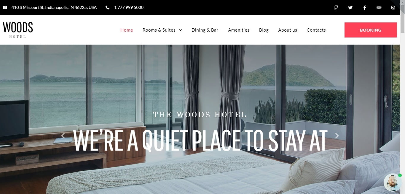 WordPress-Hotel-Themes - 25+ GREAT Free WordPress Hotel Themes [year]
