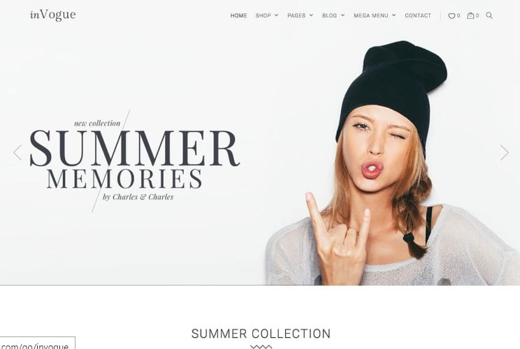 inVogue - 47+ AWESOME WordPress Woocommerce Themes [year]