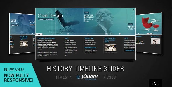 jQuery - 33+ BEST FREE CSS & Javascript Timeline IDEA [year]