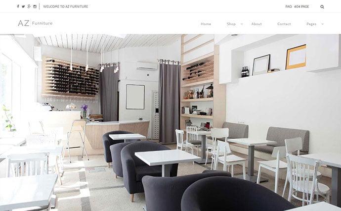 AZ - 40+ NICE WordPress Furniture & Interior Ecommerce Themes [year]