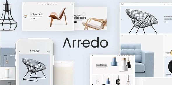 Arredo - 40+ NICE WordPress Furniture & Interior Ecommerce Themes [year]