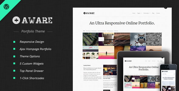 Aware - 36+ GREAT Videographers WordPress Themes [year]