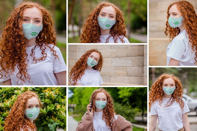 Cloth-Facemask-Mockups - 33+ NICE Face Mockup PSD Templates [year]