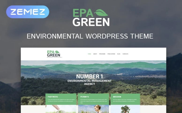 Environmental - 36+ BEST WordPress Insurance Themes [year]