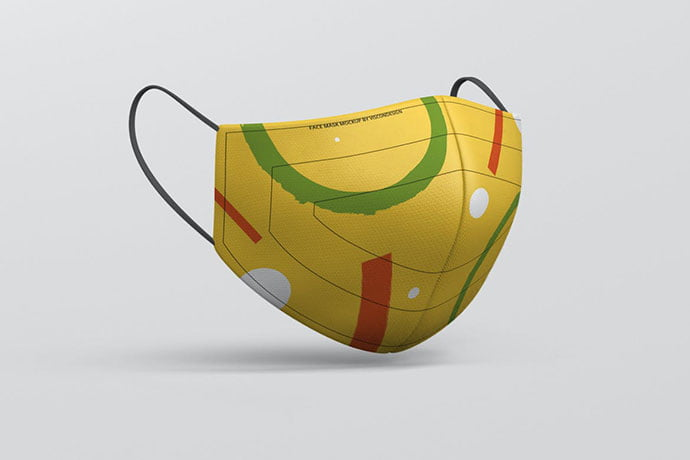 Fabric-Mask - 33+ NICE Face Mockup PSD Templates [year]