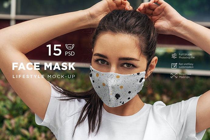 Face-Mask-MockUp-Lifestyle-1 - 33+ NICE Face Mockup PSD Templates [year]