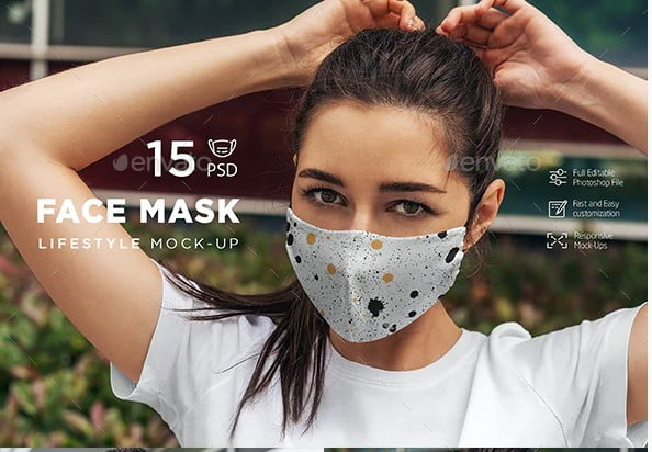 Face-Mask-MockUp-Lifestyle - 33+ NICE Face Mockup PSD Templates [year]