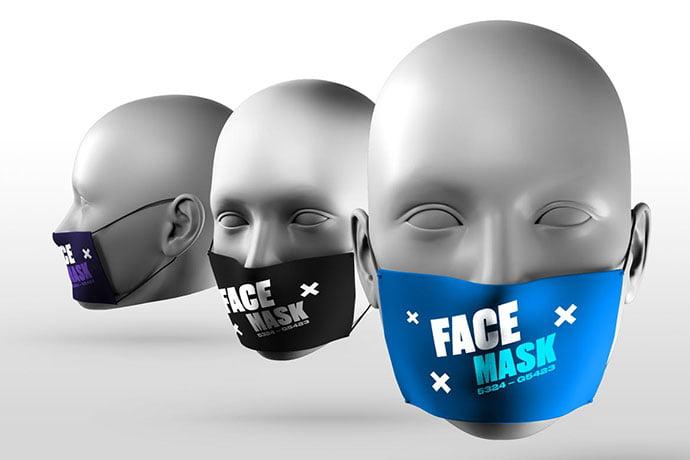 Face-Mask-Mockups - 33+ NICE Face Mockup PSD Templates [year]